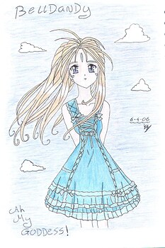 Belldandy **blue**