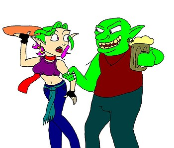 Berylla and the OrcMeister