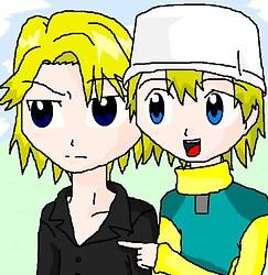 Yamato & Takeru-- It's there