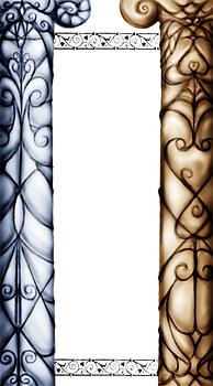 Column-painting practice
