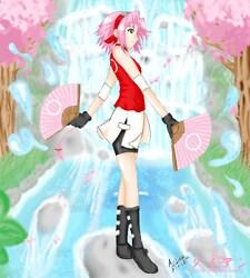 Sakura fan whip