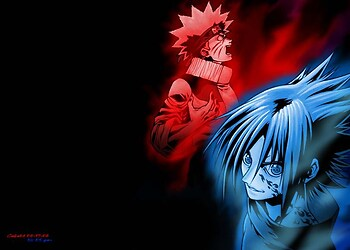 Epic Battle: Naruto and Sasuke