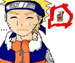 Naruto Thinking About Ramen*