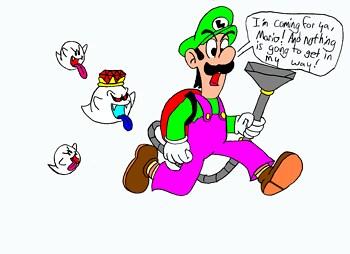 Determined Luigi