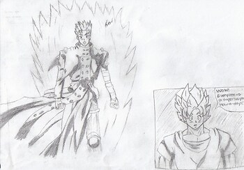 **Supersaiyan ....Vash?**