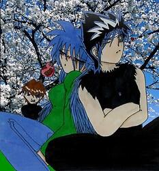 Ra, Hiei, and mad Seto