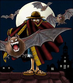 Luffy,The Vampire