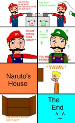 no mario,ramen isn't french 4 spagetti