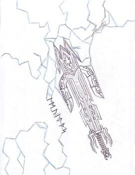 Levitas The sword of Lightning (prototype)