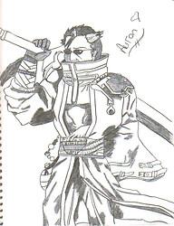 Auron Sketch