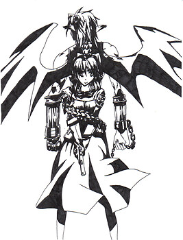 black and white rosette and crono