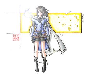 FFVIII: Sorceress Rinoa