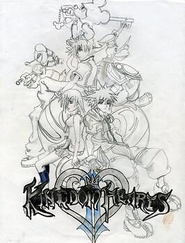 Kingdom Hearts II Cover