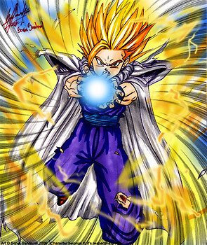 Super Saiyan 2 Gohan! (DB Portrait Collection)