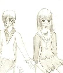 Yuki and Machi <3