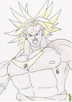 No more doughnuts 4 Broly
