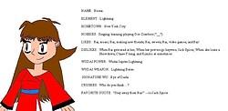 Reona, My Xiaolin Showdown OC!!