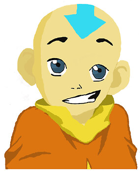 Aang colored!!!