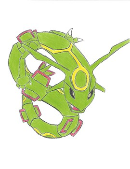 rayquaza contest entry