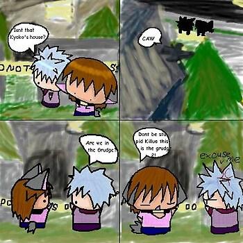 the grudge 2 comic: Kyoko's house pg:1