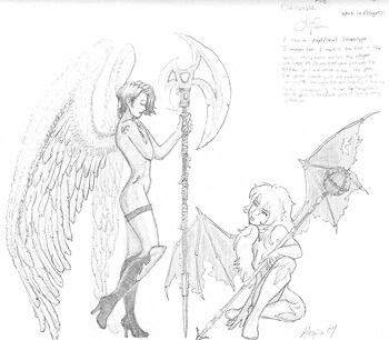 Dark angel/Light devil