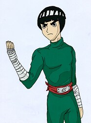 Rock Lee Colored