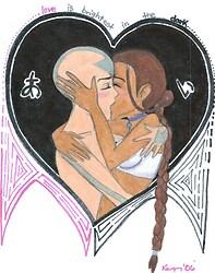 Aang + Katara = Love