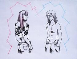 Renji & Byakuya! X3 (NOT yaoi)