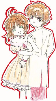 Sakura & Syaoran (for PPhantom & wolf-girl-ghost's contest)