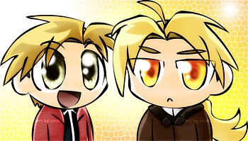 Ed and Al chibis