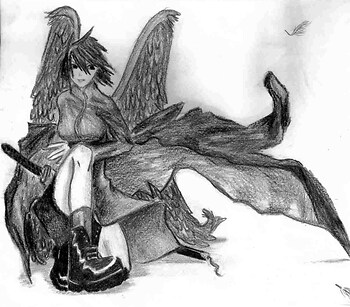 Dark Anime Angel