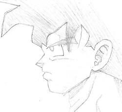 quick Goku sketch