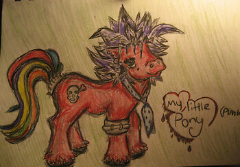 Punk Pony (colored)