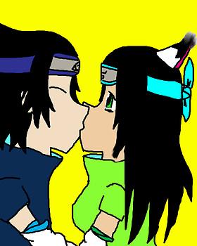 sofy and sasuke kissing(request 4 sofyuchiha9)