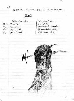 School Notes: Malpomene the Night Elf