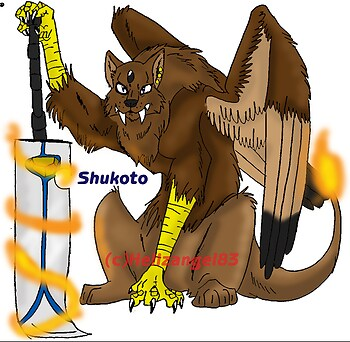 Shukoto The Hybrid (request for Hellzangel83)