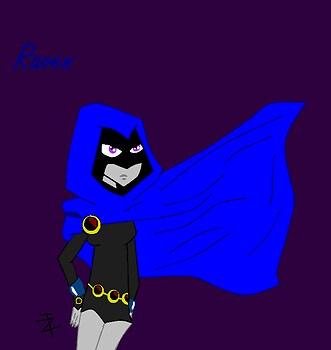 Raven on Ms Paint