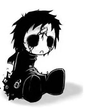 awwwwwww- cute: a gothic doll