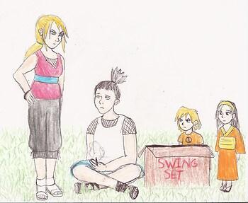 Nara Family Bonding