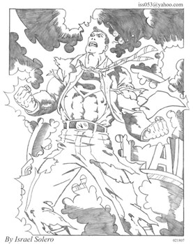 alpha: Clark Kent Struck By Lightning (Pencil)