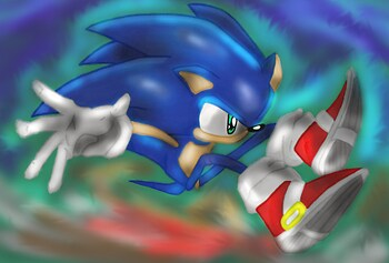 Sonic Leap (Colored)