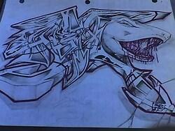 Shark 'n Graffiti