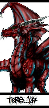 Crimson Blood Dragon*Please Comment*
