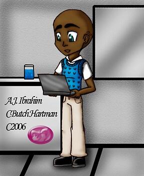 A.J. Ibrahim age 14