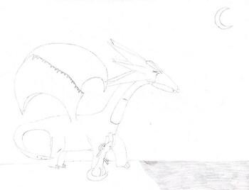 Ella and dragonlet
