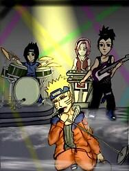 Naruto and the Konoha All Stars