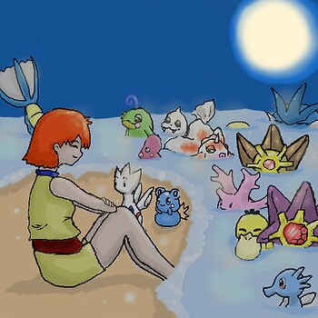 Misty and her friends