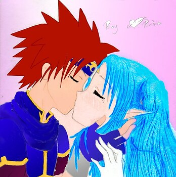 Roy/Reina Kiss in COLOR!