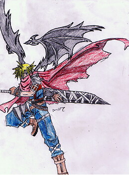 Cloud Strife(colored)