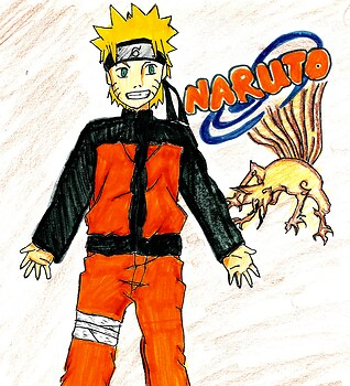 Naruto Uzumaki! *request for rolla_roach*